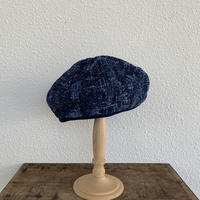 PEELED CLOTH BERET (BLUE) / Porter Classic