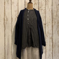 Wool Twill Weave Long Cardigan / Veritecoeur