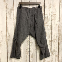 DENIM WORKERS TROUSERS / Manufactures & Co.