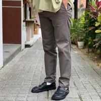 SLIM WORK PANTS (GRAY) / COWDEN