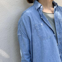 シャンブレーワイドシャツ / ARTE POVERA