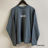 MOVE- LS (CHARCOAL) / SUNSHINE+CLOUD