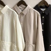 綿ウールビエラ UNI5ポケットシャツ 03S-12G / 快晴堂