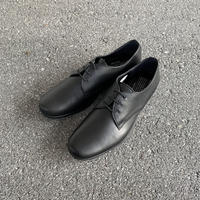 TR-008 PLAIN TOE (BLACK) / TRAVELSHOES by chausser
