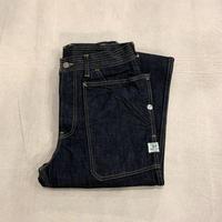 Fall Leaf Pants (Indigo) / SASSAFRAS