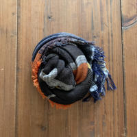 roots shawl MIDDLE OR-BN-646 / tamaki niime