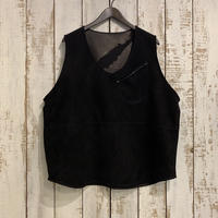 SHEEP SUEDE  VEST / Porter Classic