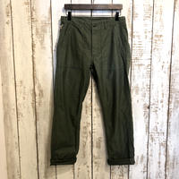 SLIM FIT FATIGUE PANTS(GREEN) / orSlow