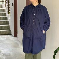 平織りシーティングBIGポケットワンピース / 快晴堂