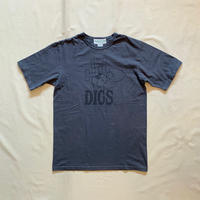 Digs Crew Sign T 1/2 (Charcoal) SF-191468 / SASSAFRAS