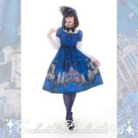 幻影薔薇城~コウモリ公爵からの招待状~薔薇舞う夜のワンピース(青い夜)