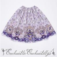 すみれ姫の王冠スカート(ラベンダーヴィオレット)