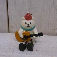 concombre クリスマスマスコットギターデュオ(ZXS40658しろくま)
