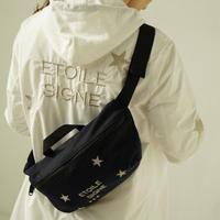 1810001 星刺繍ウエストポーチ