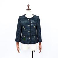 2004905 刺繍ツイードジャケット