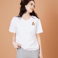 2001116 キャサリンスワロVネックTシャツ