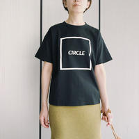 CIRCLE TEE〈BLACK〉