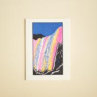活版印刷カード | Nature