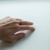 JIVITA   Paris Ring  with Ruby