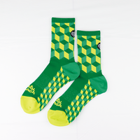 "Cycling Socks ""CUBE"""