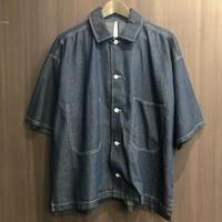 ステッチデニムルーズシャツ  194042