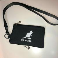 KANGOL パスケース KGSA−BG00077 (ブラック)