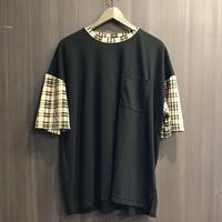 スリーブチェックBIGシャツ N19-117-21G