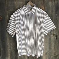 BIGストライプ半袖シャツ