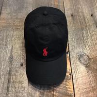 PORO RALPH  LAUREN CAP  ブラック