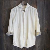 綿パナマベイズリー7分シャツ