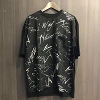 グランジプリント半袖Tシャツ  920S9603