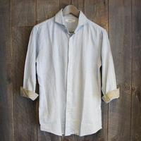 綿パナマベイズリー7分シャツ  EASS19−01
