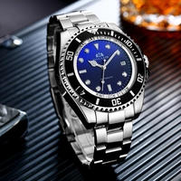 PAULAREIS P 機械式 高級 自動巻き 腕時計 メンズ 海外ブランド プレゼント ブルー×ブラック