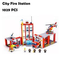レゴ ( LEGO ) 風  シティ 消防署 60110 ( 海外製品 ) ◆ レゴブロック 互換 ◆