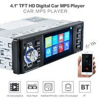 4016C 4.1 TFT HDデジタルステレオViehcle FMラジオリアビューカメラとステアリングホイールリモコン付MP3