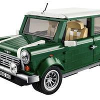 レゴ 互換品 ミニクーパー グリーン テクニックシリーズ LEGO互換 1077ピース mini 模型