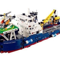 Ali1 LEGO(レゴ)風 テクニック 海洋調査船 42064 互換