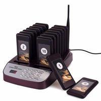 レストラン ウェイター システム 無線 コール ブザー 飲食店 顧客対応機器 呼び鈴 フードコート 呼び出し お渡し TIVDIO T-113