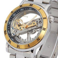 IK Colouring 自動巻き 機械式腕時計 メンズ スケルトン トゥールビヨン 斬新デザイン