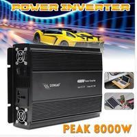 カーインバータ 12V220V/110V4000W電源インバータピーク-8000W電圧トランスアダプタ充電器