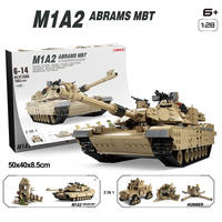 LEGO 互換 ブロック エイブラム  戦車 M1A2 ミリタリー フィギア レゴ 互換品