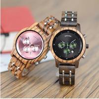 BOBO BIRD 3色展開 木製 腕時計 レディース 女性 高級 ウッド メタルストラップ  天然木  カジュアル 斬新 デザイン プレゼント