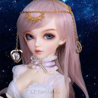 球体関節人形 BJD 本体+眼球+メイクアップ済 1/4 42cm 海外カスタムドール 可愛い美少女 クロエ MSD好きに Failyland Minifee Ante