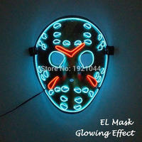 ジェイソン 13日の金曜日 ELマスク LED ハロウィン 仮装 コスプレ パーティー クリスマス 光るマスク ギャグ