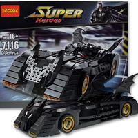 レゴ風 LEGO互換 バットマン バットモービル 7784風