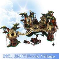 《新品・絶版品》レゴ ( LEGO ) 風 イウォーク村セット 10236 相当 レゴ スターウォーズ star wars レゴ互換 ewok