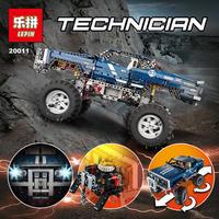 レゴ互換品 1605ピース テクニックリモコン 電動オフロード車
