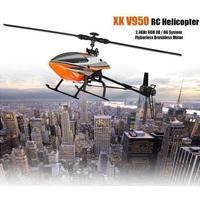 WLtoys V950☆ 2.4G 6CH 3D 6Gシステム ブラシレス RC ヘリコプター RTF