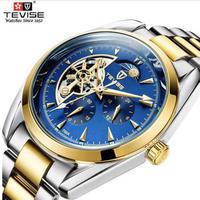 TEVISEサン&ムーン ムーンフェイズ オートマティック 機械式腕時計 メンズ ビジネス TEVISEサン&ムーン ムーンフェイズ オートマティック 機械式腕時計 メンズ ビジネス