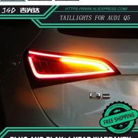 LED テールランプ アウディQ5 2009-2015 ブレーキランプ ターンランプ リアトランクランプカバー テールライト